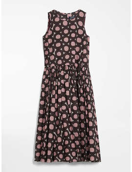 Cotton Voile Dress by Max Mara