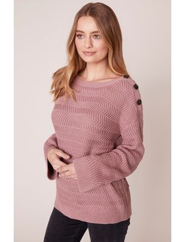 Pushing Your Buttons Sweater by Jack By Bb Dakota
