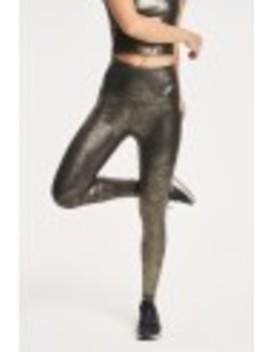 Luxe Leatherette High Waist Midi Legging by Beyond Yoga