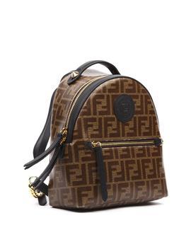 Fendi Mini Monogram Logo Patch Backpack by Fendi Fendi