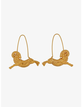 Aries Zodiac Earrings by Givenchy