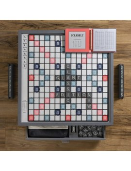 Winning Solutions Designer Edition Giant Scrabble Board Game   Grey by Winning Solutions