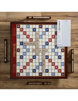 Winning Solutions Designer Edition Giant Scrabble Board Game   Cherry by Winning Solutions