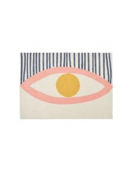 Large Multi Coloured Wool Rug 170 X 240cm Large Multi Coloured Wool Rug 170 X 240cm by Eye                         Eye