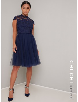 Chi Chi Petite Ailish Dress by Chi Chi London