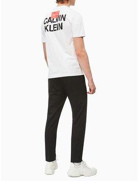 Regular Fit City Logo T Shirt by Calvin Klein