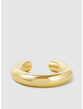 Swell Gold Tone Bangle by ‎Uncommon Matters‎