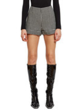 Houndstooth Short by Anna Sui