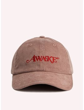 Corduroy Classic Logo Dad Hat by Awake Ny
