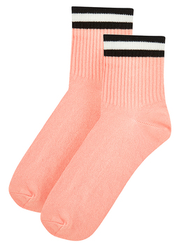 Sport Stripe Varsity Ankle Socks by Accessorize