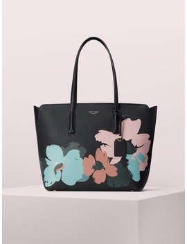 Margaux Brush Bloom Large Tote by Kate Spade
