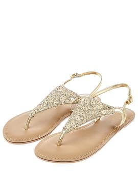 Athena Embellished Sandal by Accessorize