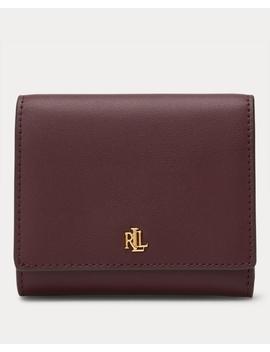 Leather Medium Wallet by Ralph Lauren