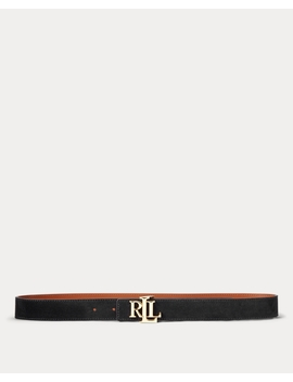 Reversible Leather Belt by Ralph Lauren