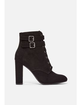 Kaiya Lace Up Ankle Boot by Justfab