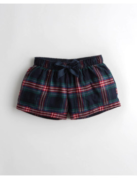 Flannel Sleep Short by Hollister