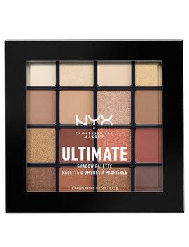 Paleta Ultimate Shadow Da Nyx Professional Makeup   Warm Neutrals by Look Fantastic