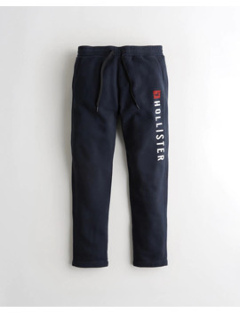 Straight Leg Sweatpants by Hollister