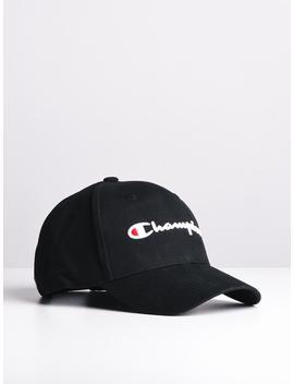 Classic Twill Hat   Black by Championchampion