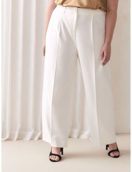 High Waist Wide Leg Pant   Addition Elle by Penningtons