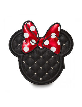 Loungefly Disney Mickey Mouse Minnie Mouse Die Cut Quilted Cross Body Chain Bag by Iwoot