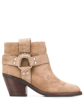 Cowboy Ankle Boots by See By Chloé