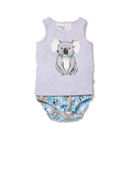 Baby Koala Pj Set by Peter Alexander