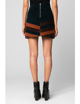 Road Block Skirt by Blank Nyc