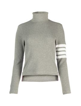 Thom Browne 4 Bar Detail Turtleneck Sweater by Thom Browne Thom Browne