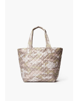 Blush Camo Medium Metro Tote by Mz Wallace