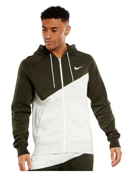 Nike Mens Swoosh Full Zip Hoodie by Nike