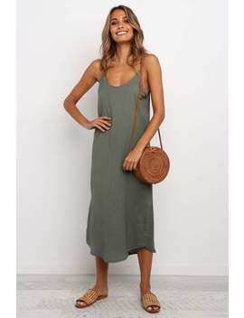 Sybella Dress   Olive by Petal & Pup