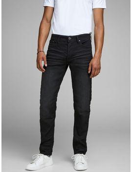 Mike Original Jos 697 I.K. Comfort Fit Jeans Printed T Shirt  Denim Overshirt  Mike Original Jos 697 I.K. Comfort Fit Jeans  Asics Japan S Sneakers by Jack & Jones