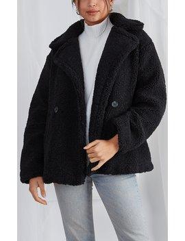 Noelle Teddy Coat by Pretty Lavish