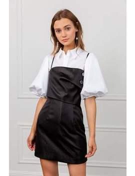 Kiki Black Mini Dress by J.Ing
