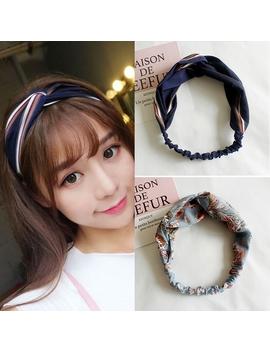 18 Style Korean Women Hairband Elastic Twisted Headband Headwrap New Style 2019 by Shopee