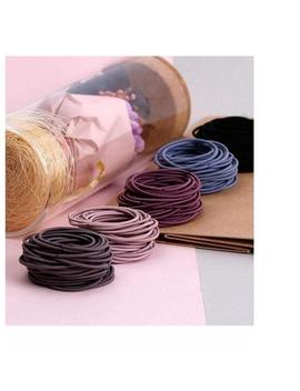 Preferred100pcs Women Daylife Ponytail Elastic Hair Hairband Fashion Band Holder Hairtie by Shopee