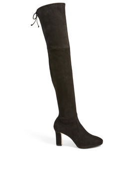 Ledyland Suede Heeled Over The Knee Boots by Holt Renfrew