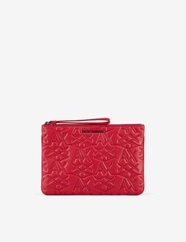 Clutch With Logo by Armani Exchange