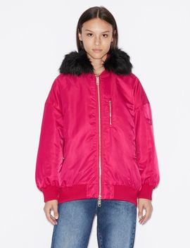 Oversized Padded Bomber by Armani Exchange