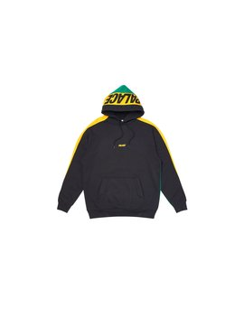 Catch Up Hood Black / Yellow / Green by Palace Skateboards