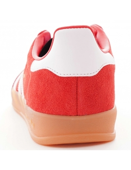 Gazelle Indoor   Red by Adidas Originals