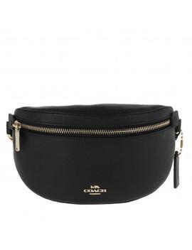 Polished Pebble Belt Bag Black by Coach