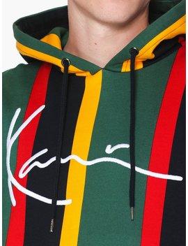 Kk Signature Stripe Hoodie by Karl Kani
