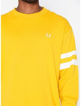 Tipped Sleeve T Shirt by Fred Perry