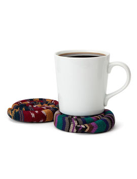 Cozy Scented Warming Coaster by Uncommon Goods