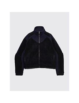 Gmb H Ercan Two Tone Fleece Jacket Navy / Black by Très Bien