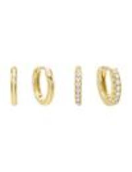 Mini Huggie Earring Combo Set by Adina's Jewels