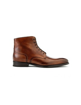 Hugo Lace Boot In Brown by Ace Marks