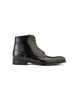 Hugo Lace Boot In Black by Ace Marks